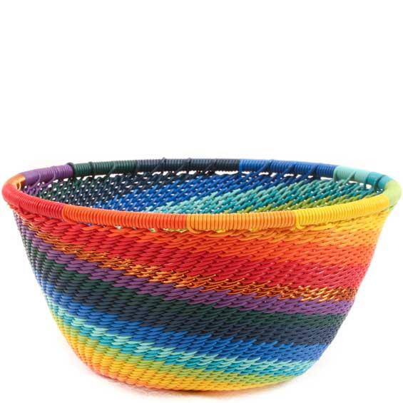 African Basket - Zulu Wire - Small Bowl #65369