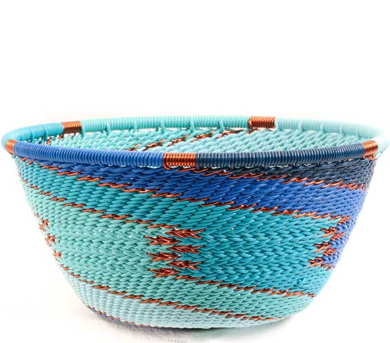African Basket - Zulu Wire - Small Bowl #68604