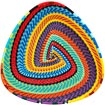 African Basket - Zulu Wire - Shallow Triangle #68636