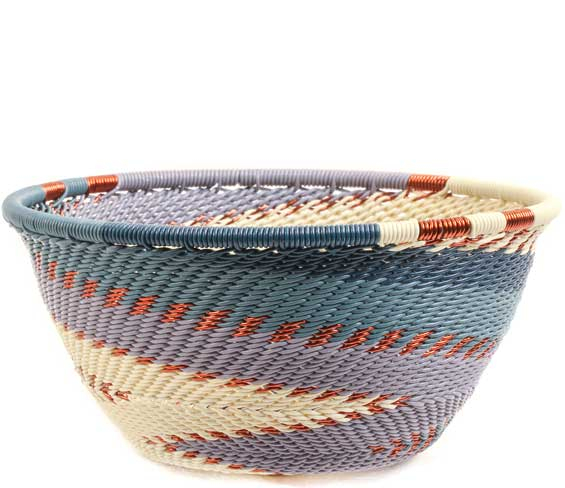 African Basket - Zulu Wire - Small Bowl #69893