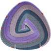 African Basket - Zulu Wire - Shallow Triangle #70182
