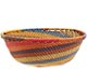 African Basket - Zulu Wire - Small Wide Bowl #71023