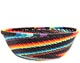 African Basket - Zulu Wire - Small Wide Bowl #71026