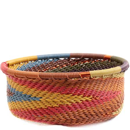 African Basket - Zulu Wire - Small Bowl with Straight Sides #71070