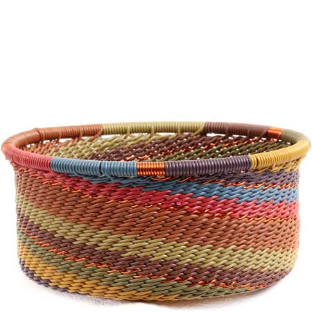 African Basket - Zulu Wire - Small Bowl with Straight Sides #71071