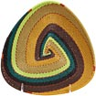 African Basket - Zulu Wire - Shallow Triangle #71096