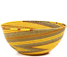 African Basket - Zulu Wire - Extra Large Bowl #73090