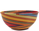 African Basket - Zulu Wire - Extra Large Bowl #73093