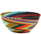 African Basket - Zulu Wire - Extra Large Bowl #73094