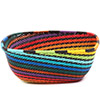 African Basket - Zulu Wire - Square Bowl #73101