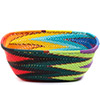 African Basket - Zulu Wire - Square Bowl #73104