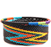 African Basket - Zulu Wire - Small Bowl with Straight Sides #73898