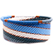 African Basket - Zulu Wire - Small Bowl with Straight Sides #73922