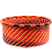 African Basket - Zulu Wire - Small Bowl with Straight Sides #74827