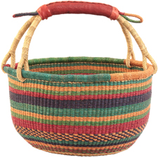 Ghana Bolga Baskets, Fair Trade African Baskets
