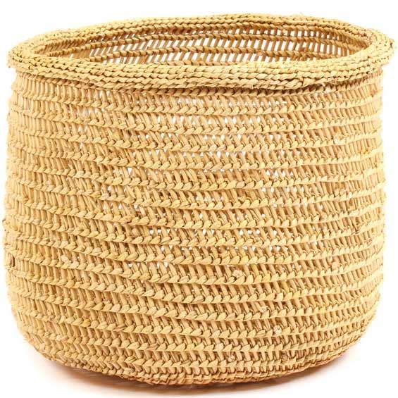 African Basket - Mossi Sieve Basket -  9.5 Inches Across - #68260