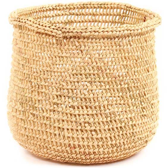 African Basket - Mossi Sieve Basket -  8.5 Inches Across - #68261