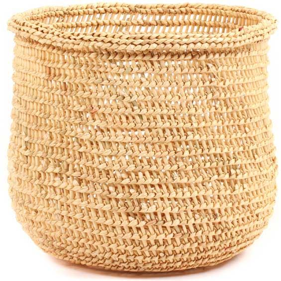 African Basket - Mossi Sieve Basket -  9 Inches Across - #68264