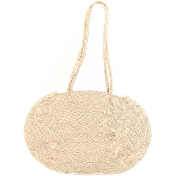 African Market Basket - Tuareg Tote - Approximately 18 Inches Across - #68322