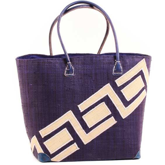 African Market Basket - Madagascar - Malagasy Tote - Approximately 16 Inches Across - #68853