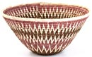 African Basket - Makalani Bowl - 12 Inches Across - #20604