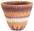 African Basket - Makalani Bowl - 10 Inches Across - #20605