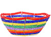 African Basket - Kenya - Beaded Bowl, Small -  5.5 Inches Across - #76034