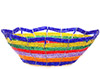 African Basket - Kenya - Beaded Bowl, Small -  6 Inches Across - #76035