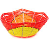 African Basket - Kenya - Beaded Bowl, Small -  5.5 Inches Across - #77861