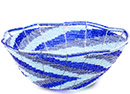 African Basket - Kenya - Beaded Bowl, Medium -  7.5 Inches Across - #77890