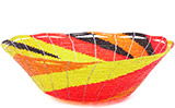 African Basket - Kenya - Beaded Bowl, Large - 10.75 Inches Across - #77891