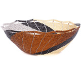 African Basket - Kenya - Beaded Bowl, Large - 10.25 Inches Across - #77892