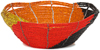 African Basket - Kenya - Beaded Bowl, Small -  5.75 Inches Across - #92466