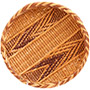"African Basket - Tonga - Gokwe Winnowing Basket - 10.25"" Across - #73939"
