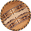 "African Basket - Tonga - Gokwe Winnowing Basket - 12.5"" Across - #76206"
