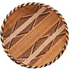 "African Basket - Tonga - Gokwe Winnowing Basket - 12.75"" Across - #76207"