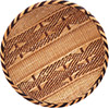 "African Basket - Tonga - Gokwe Winnowing Basket - 14"" Across - #76209"