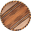 "African Basket - Tonga - Gokwe Winnowing Basket - 13.25"" Across - #76212"
