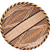 "African Basket - Tonga - Gokwe Winnowing Basket - 13.5"" Across - #76213"