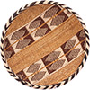 "African Basket - Tonga - Gokwe Winnowing Basket - 13.5"" Across - #76220"