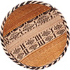 "African Basket - Tonga - Gokwe Winnowing Basket - 13.5"" Across - #76221"
