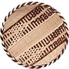 "African Basket - Tonga - Gokwe Winnowing Basket - 12.75"" Across - #76222"