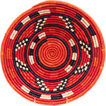 African Basket - Nubian Bowl - 12 Inches Across - #72930