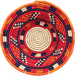 African Basket - Nubian Bowl - 12 Inches Across - #72933