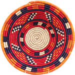 African Basket - Nubian Bowl - 12 Inches Across - #72934