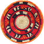 African Basket - Nubian Bowl - 12.75 Inches Across - #73056