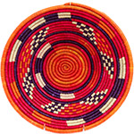 African Basket - Nubian Bowl - 12.25 Inches Across - #73060