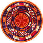 African Basket - Nubian Bowl - 12 Inches Across - #73064