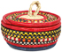 African Basket - Nubian - Canister - 6 Inches Across - #95263