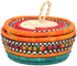 African Basket - Nubian - Canister - 6 Inches Across - #95264